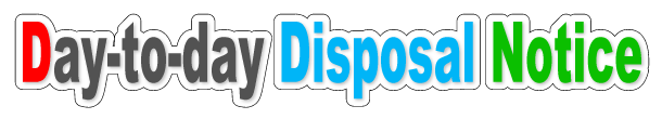 DisposalNotice